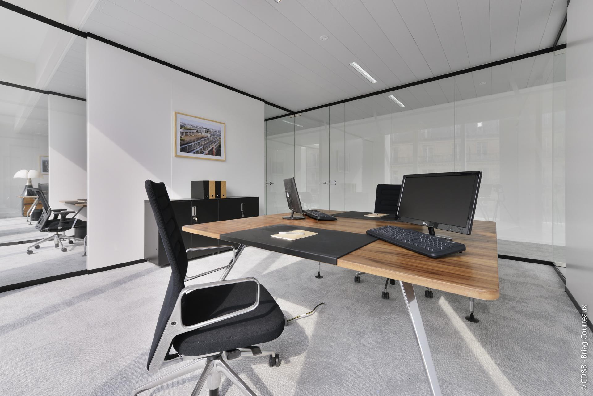 Conseil, aménagement, conception et réalisation des espaces de la société SFL Cloud par CDB, Meet you there.