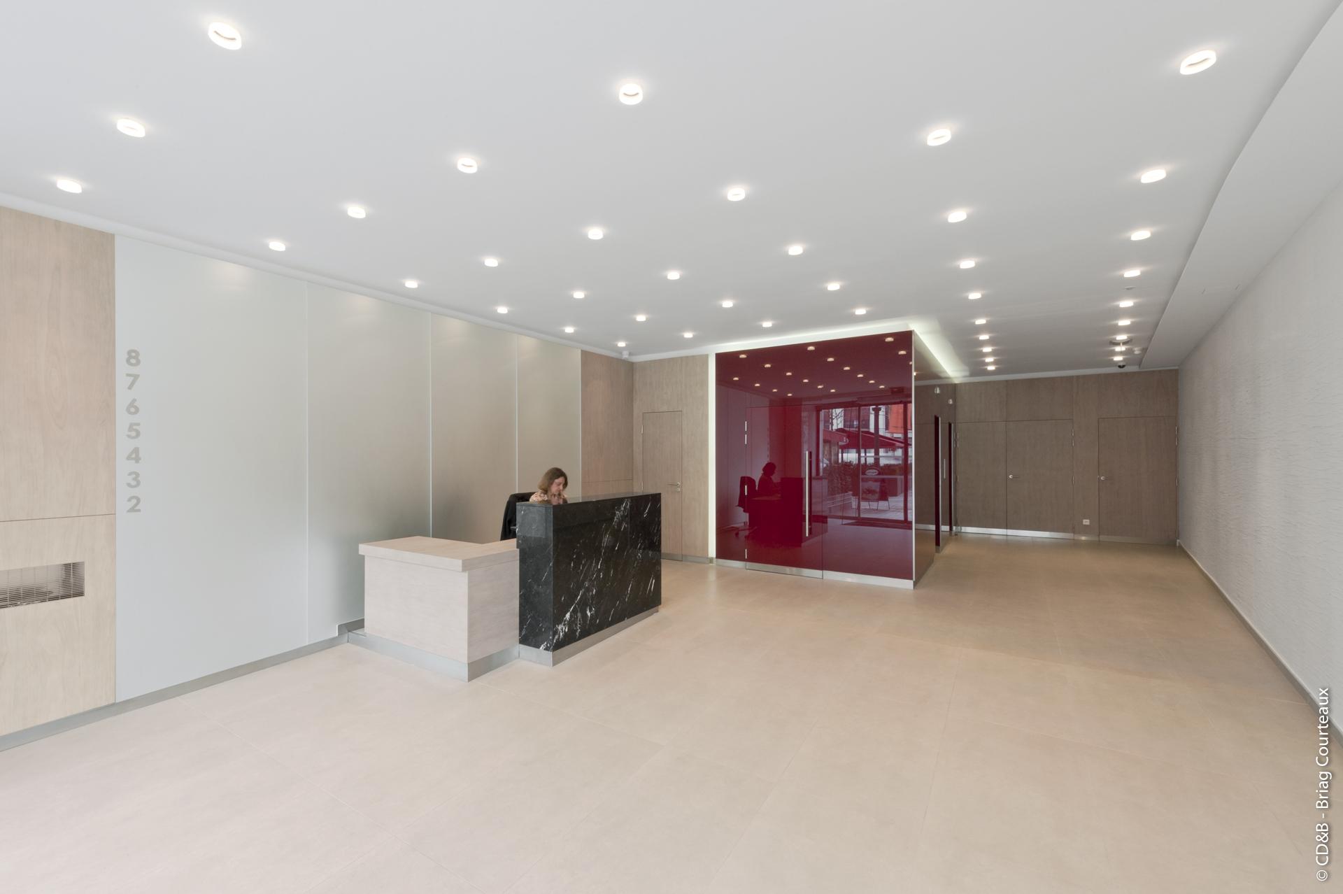 Conseil, aménagement, conception et réalisation des espaces de la société SNC CITEFI par CDB, Meet you there.