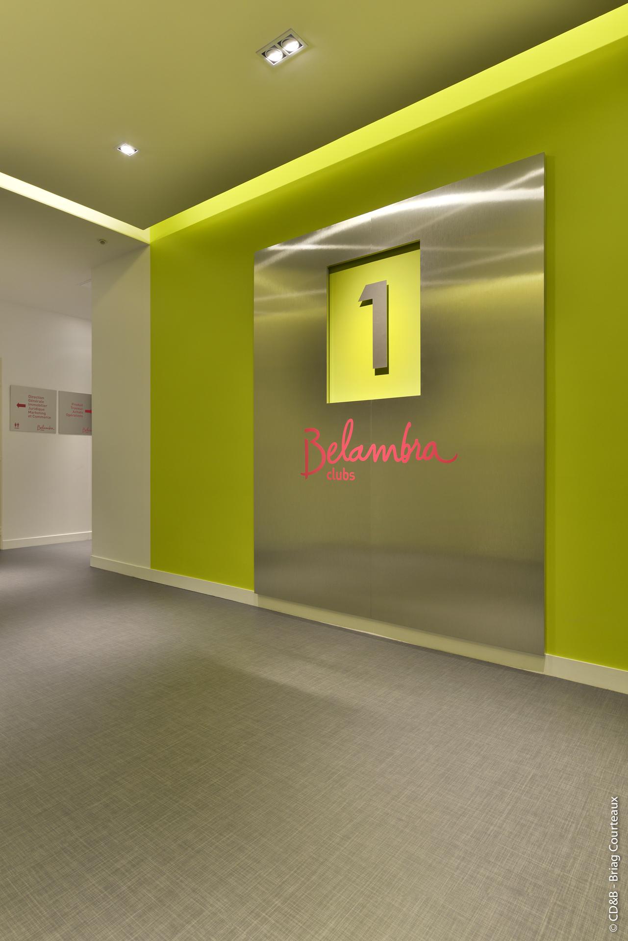 Conseil, aménagement, conception et réalisation des espaces de la société Belambra par CDB, Meet you there.