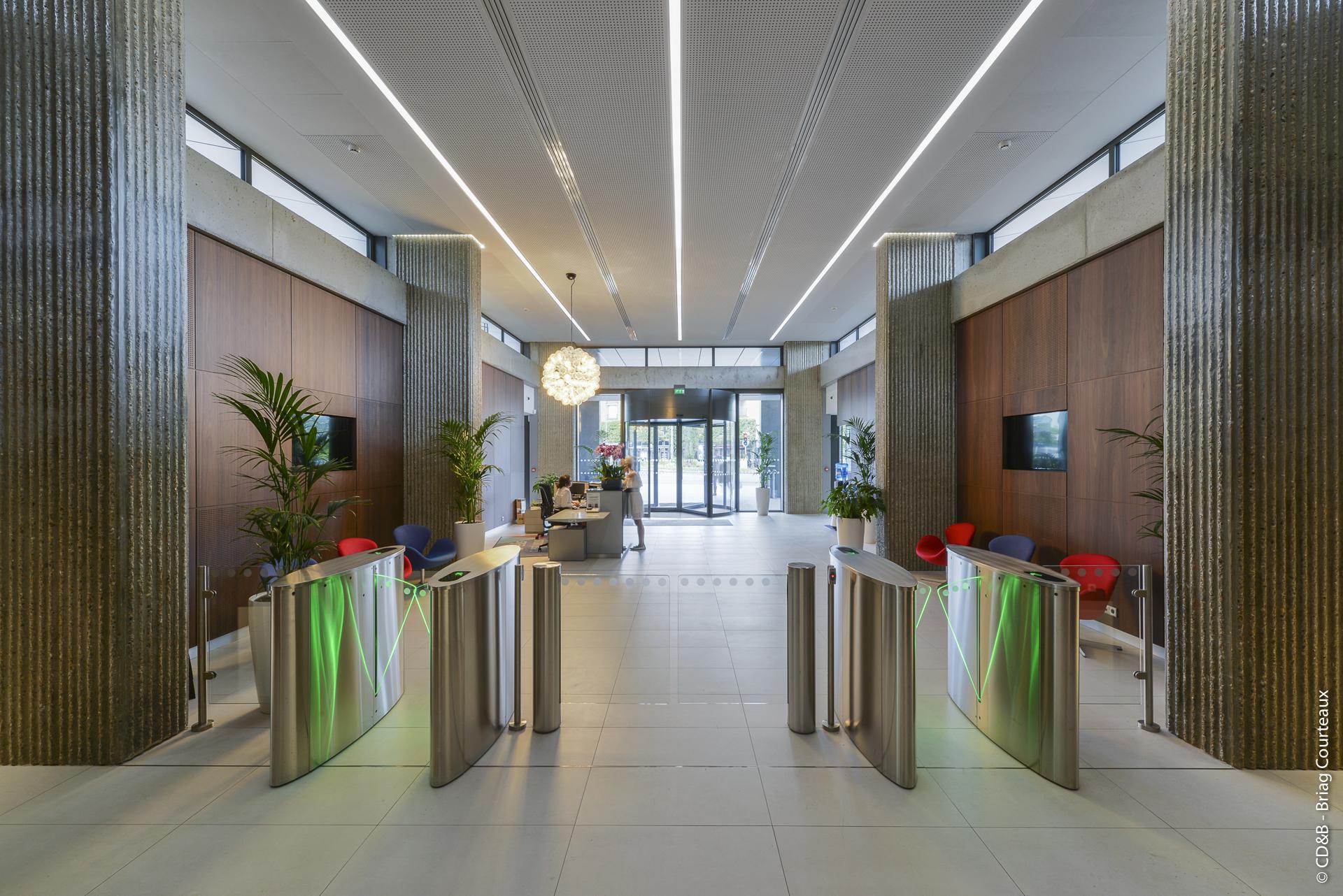 Conseil, aménagement, conception et réalisation des espaces de la société ELIS par CDB, Meet you there.