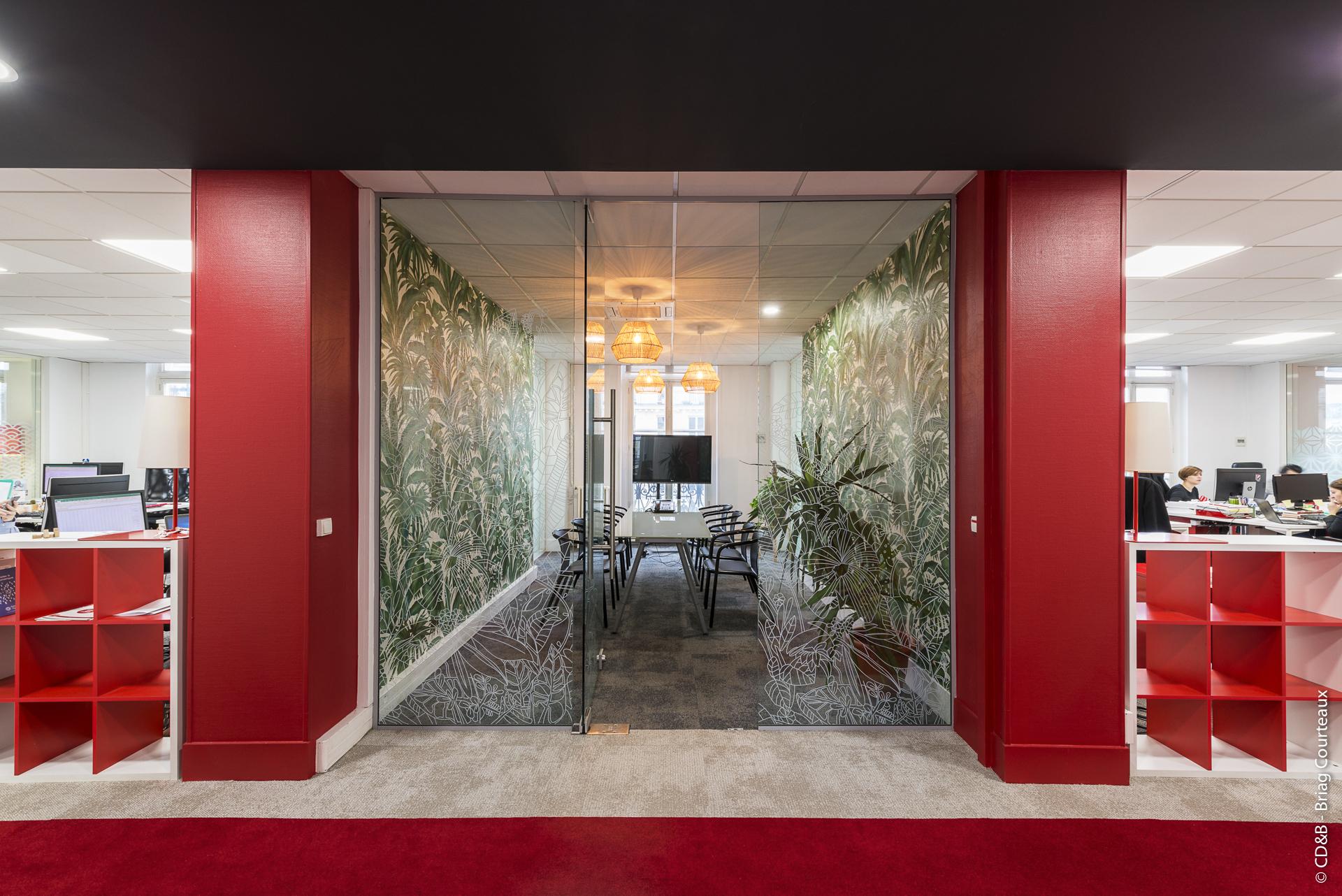 Conseil, aménagement, conception et réalisation des espaces de travail chez Great Place To Work par CDB, Meet you there.