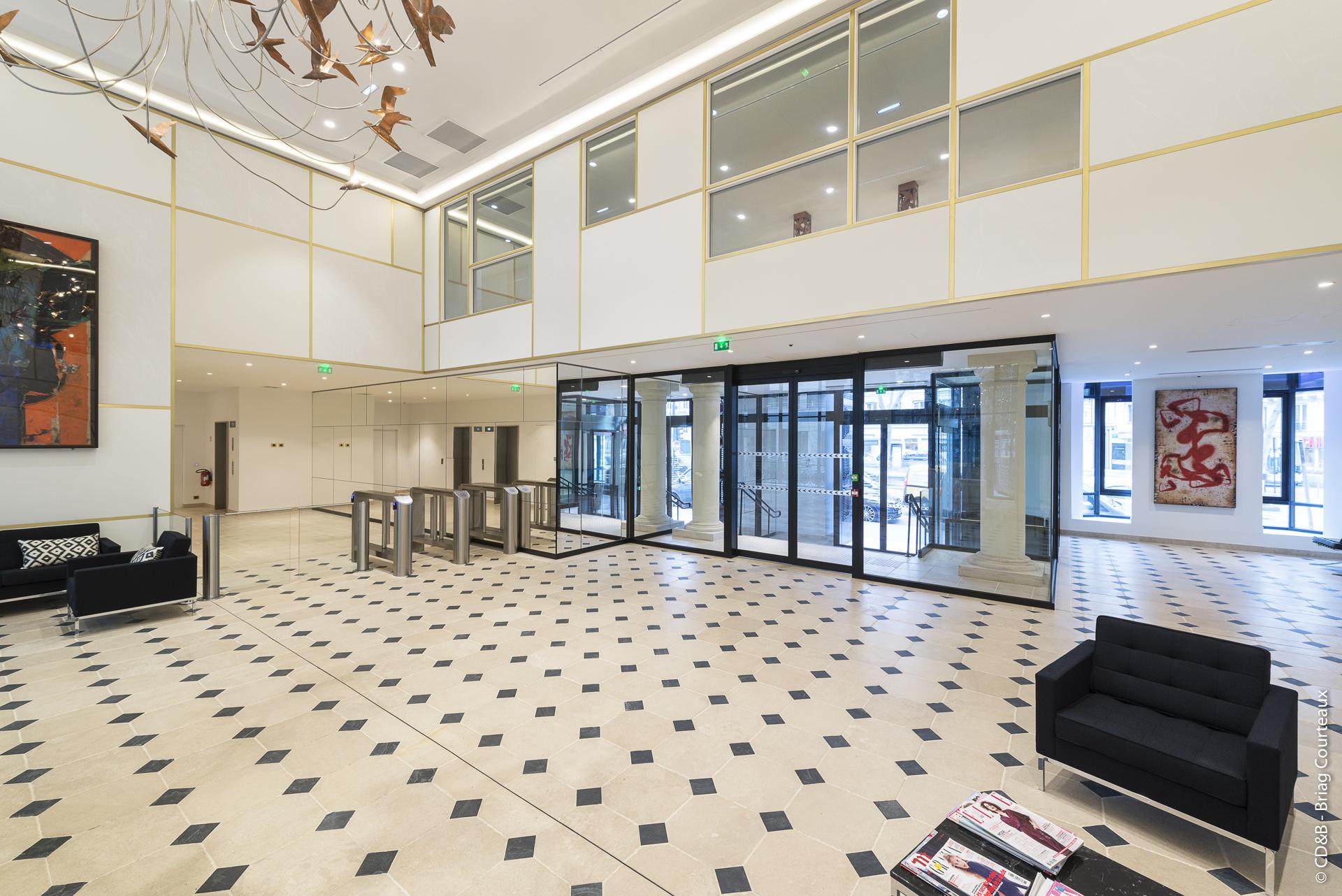 Conseil, aménagement, conception et réalisation des espaces de la société SISLEY par CDB, Meet you there.