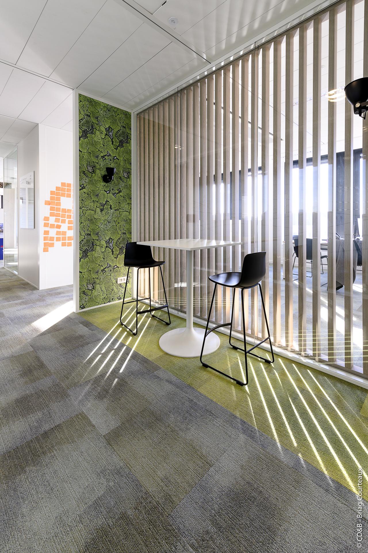 Conseil, aménagement, conception et réalisation des espaces de la société SEPPIC par CDB, Meet you there.