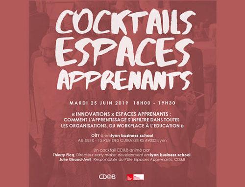 Les espaces apprenants passent en mode cocktails & entreprises !