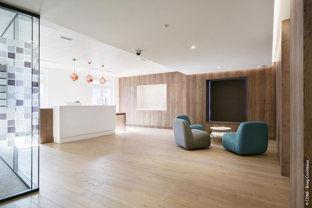 Conseil, aménagement, conception et réalisation des espaces de la société TRIAGO par CDB, Meet you there.