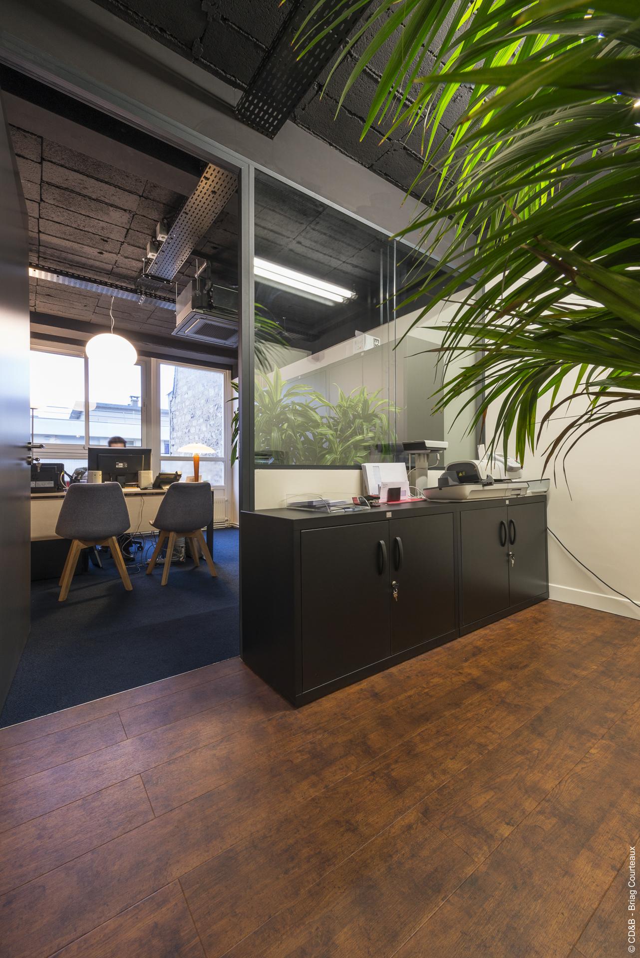 Conseil, aménagement, conception et réalisation des espaces de bureaux de la société CIEM par CDB, Meet you there.