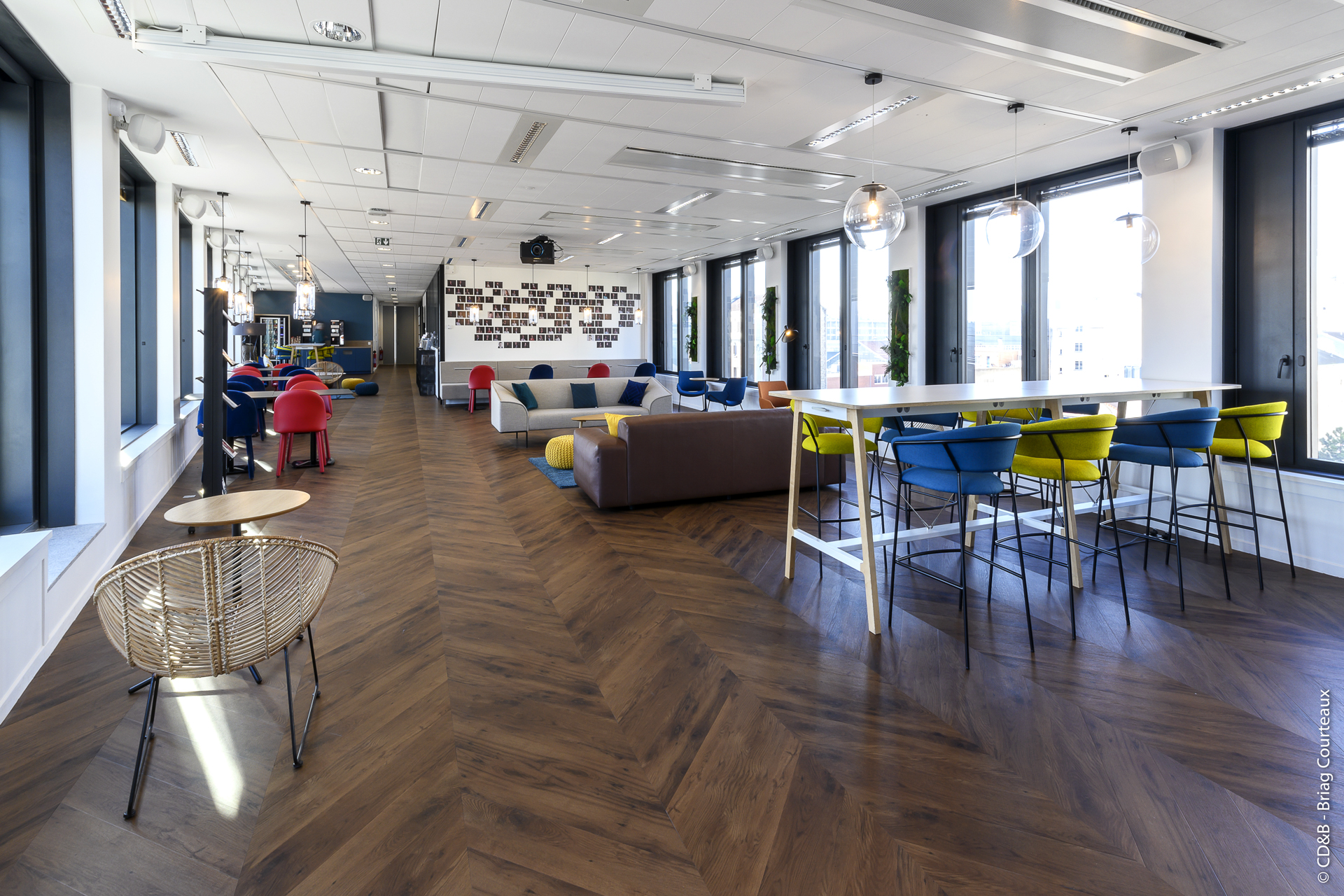 Conseil, aménagement, conception et réalisation des espaces de bureaux de la société SEPPIC par CDB, Meet you there.
