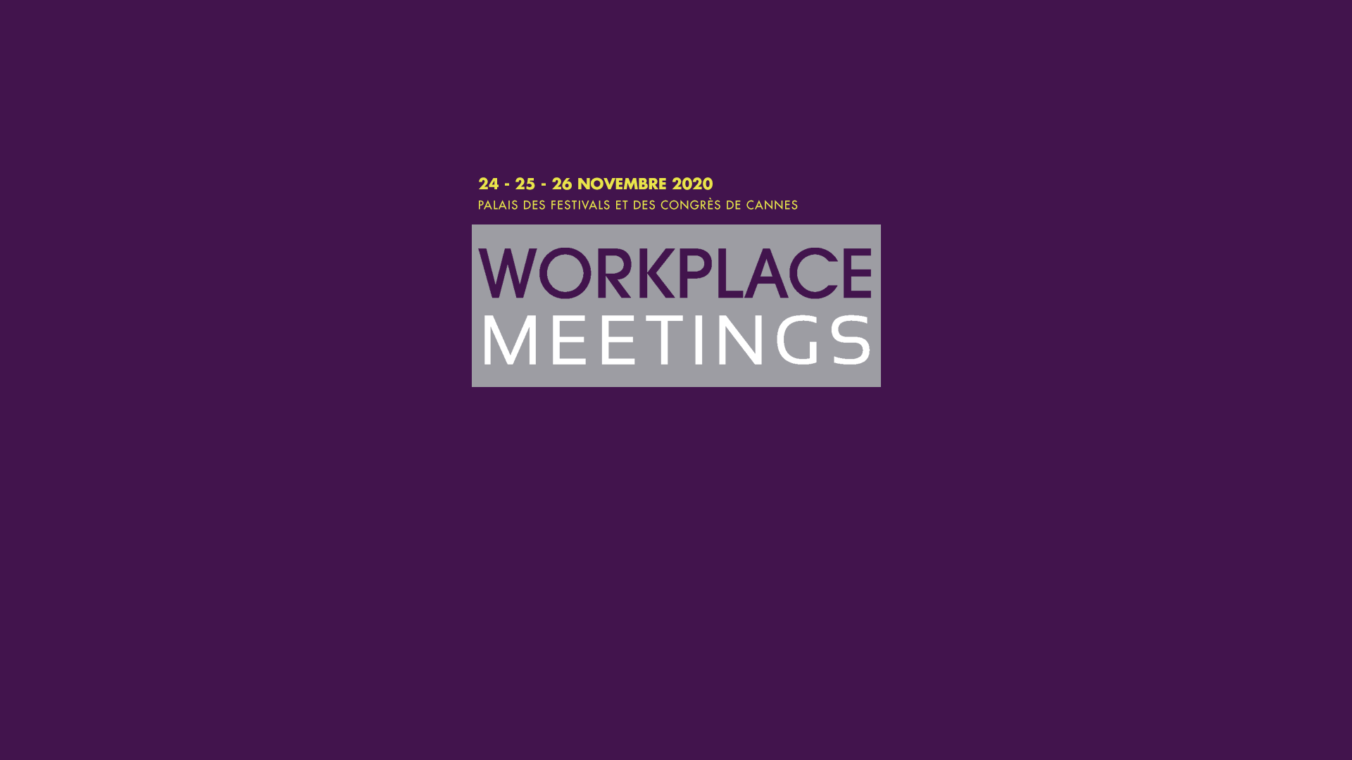 CDB - Salon Workplace Meetings 2020