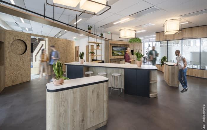 CDB I Conseil, aménagement, conception et réalisation des espaces de travail, Meet you there.