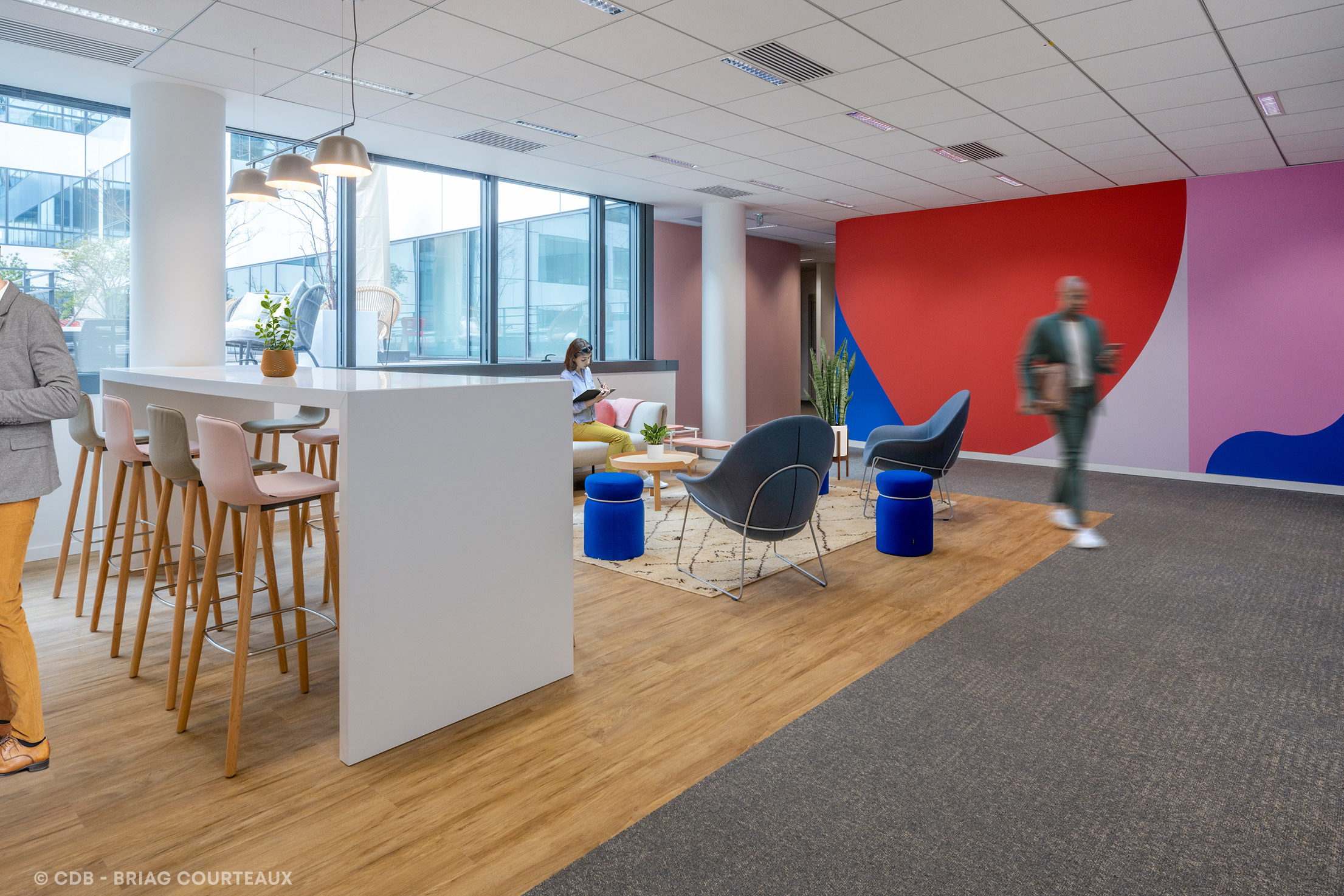 CDB, cabinet de conseil spécialiste de l'aménagement des espaces de travail.