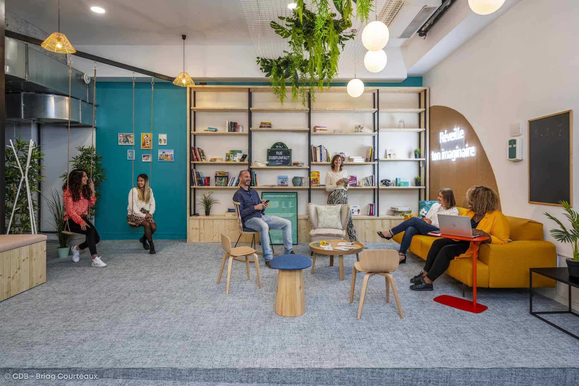 Conseil, aménagement, conception et réalisation des espaces de travail, Meet you there.